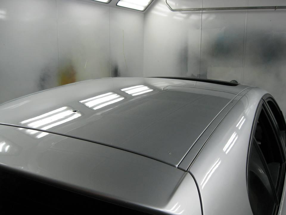 Reparación de bollos por granizo de un BMW 120