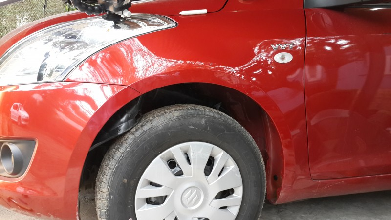 Reparación de bollos de un Suzuki Swift