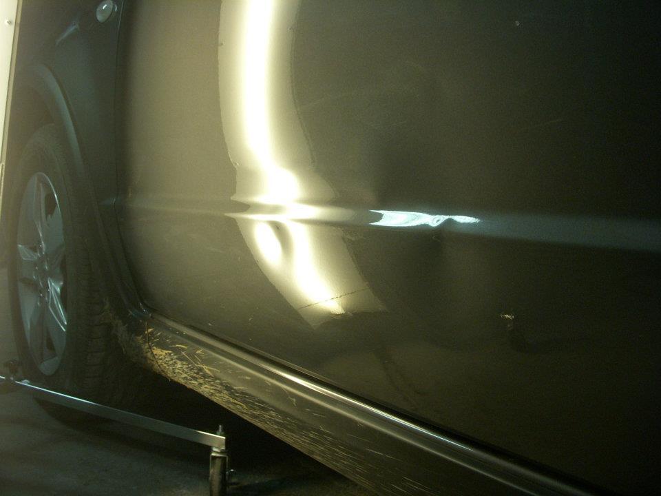 Reparación de bollos de un Suzuki SX4
