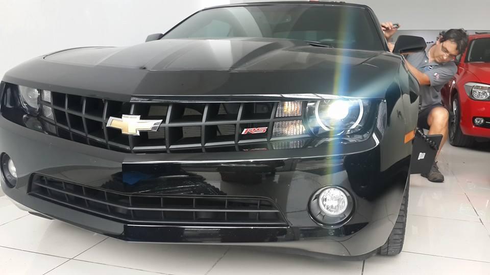 Técnica de scabollos Chevrolet Camaro